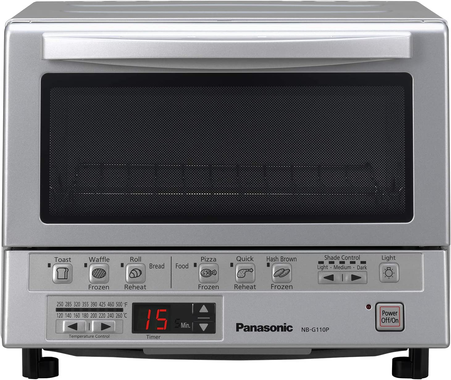 Panasonic NB-G110P FlashXpress Compact Toaster Oven