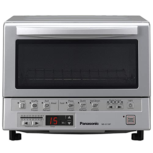 Panasonic-Toaster-Oven-NB-G110P-FlashXpress-with-Double-Infrared-Heating-and-Removable-9-Inch-Inner-Baking-Tray