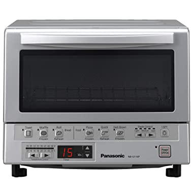 Panasonic NB-G110P Flash Xpress Toaster Oven, Silver