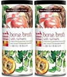 The Honest Kitchen Beef Bone Broth: Natural Human Grade Functional Liquid Treat with Turmeric Spice for Dogs & Cats, 5 oz (pack of 2)