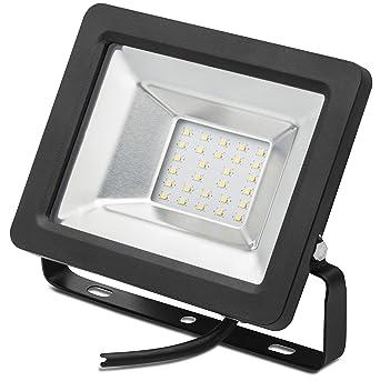 LED Baustrahler 30W Flutlicht Baustellenlampe Arbeitsleuchte Strahler Fluter
