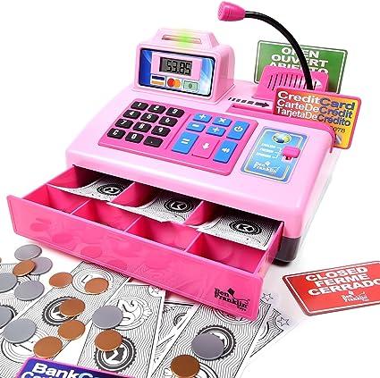 Amazon.com: Ben Franklin Toys Talking Toy Cash Register ...