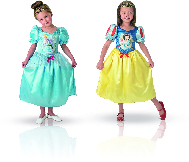 Rubies - Disfraz Blancanieves de niña, talla M a partir de 5 años ...