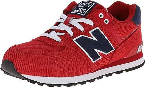 zapatillas new balance 574 rojas