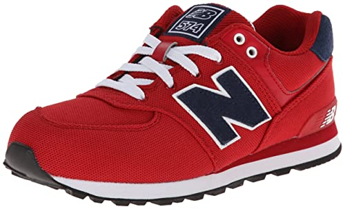 1de7a836abe4a Zapatillas New Balance 574 Rojo Junior 40 Rojo  Amazon.es  Zapatos y  complementos
