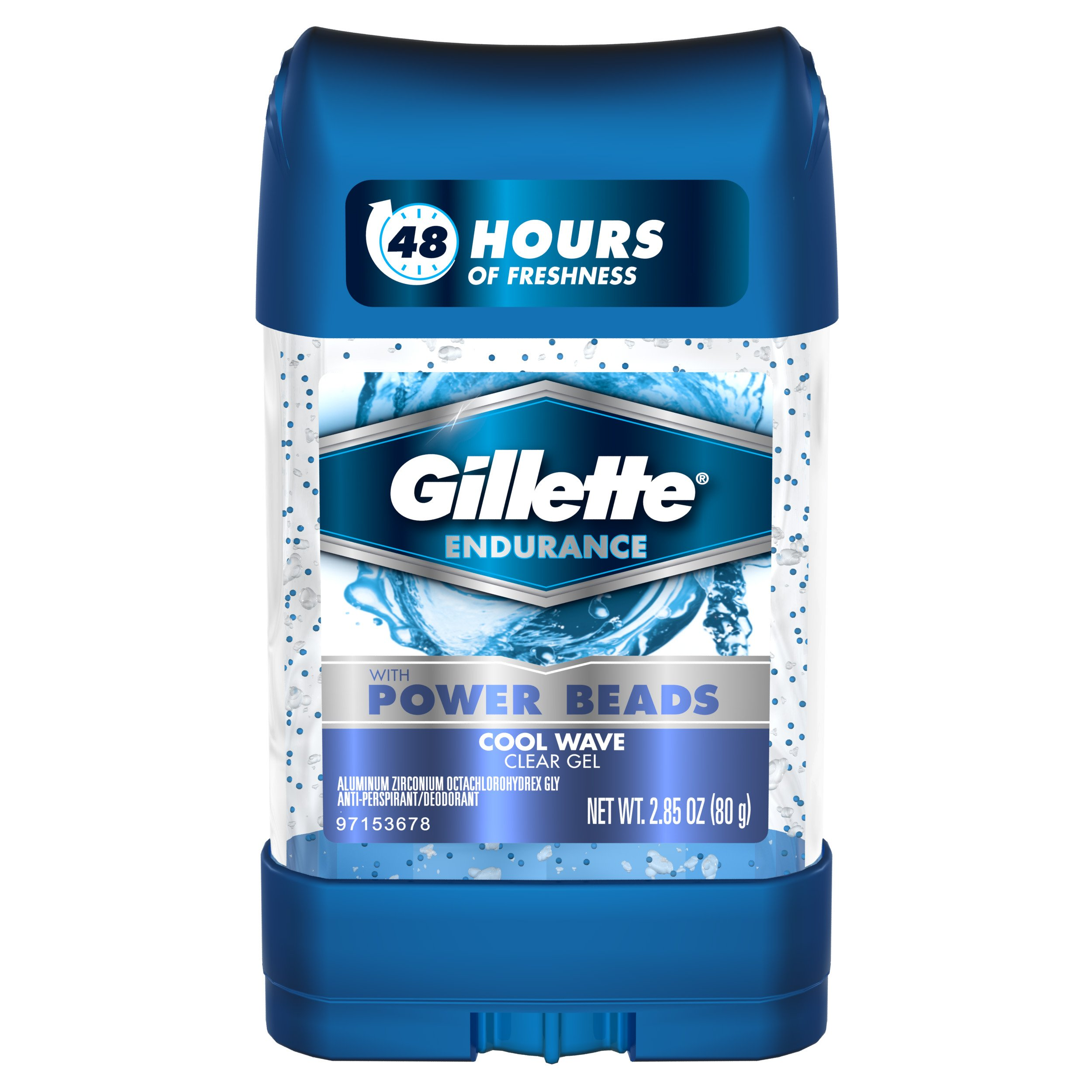 Gillette Clear Gel Power Beads Cool Wave Antiperspirant and Deodorant, 2.85 oz (pack of 3) by Gillette (Image #5)