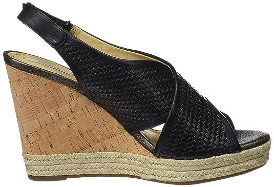 cd0004c46a Geox Women's Donna Janira C Platform Sandals: Amazon.co.uk: Shoes & Bags