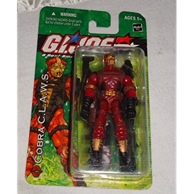 G I Joe Cobra C.L.A.W.S Action Figure: Toys & Games