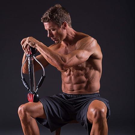 """BULLWORKER Acier 20/"""" Bow Total Body Fitness-Portable Home Gym isométrique pour"""