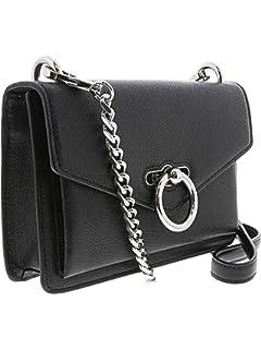 d62e4718e316 Amazon.com  Rebecca Minkoff Aliz Leather Clutch Crossbody Bag