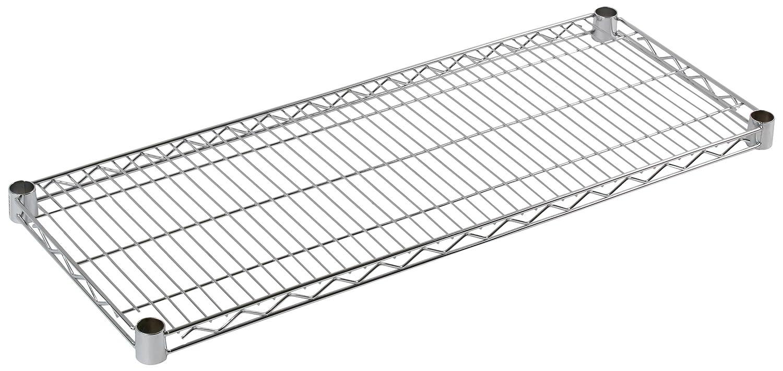 ARCHIMEDE Sistema Componibile Ripiano, Metallo, Cromato, 121 x 20 x 4 cm Serena Group A0108481