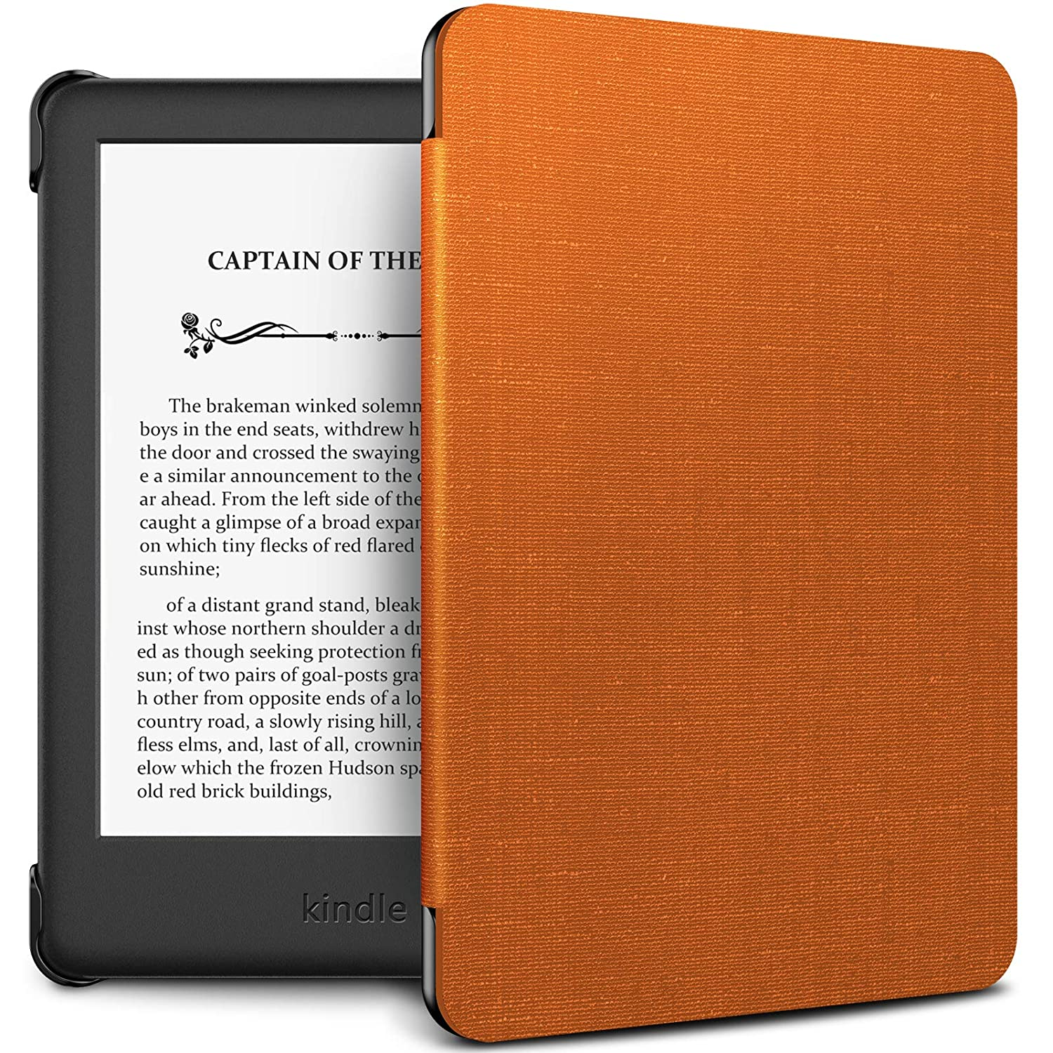 Thinnest and Lightest Case Compatible with  All-new Kindle 10th Generation 2019 Release Auto Sleep//Wake Function ,Rose Gold Infiland Case Cover for Kindle 2019 built-in front light