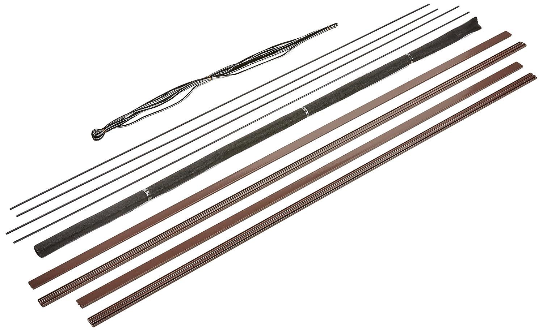 hecht international 100690402-VH Fliegengitter FensterMASTER SLIM 100x120 cm in Braun 100 x 120 cm