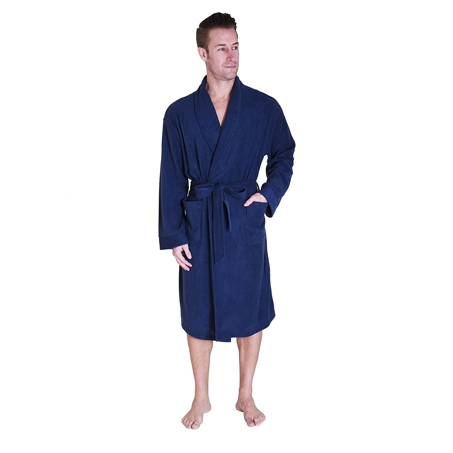 Cherokee Men's Lux Plush Robe SMA_CHMR