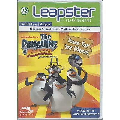 LeapFrog Leapster Learning Game: Penguins of Madagascar: Toys & Games