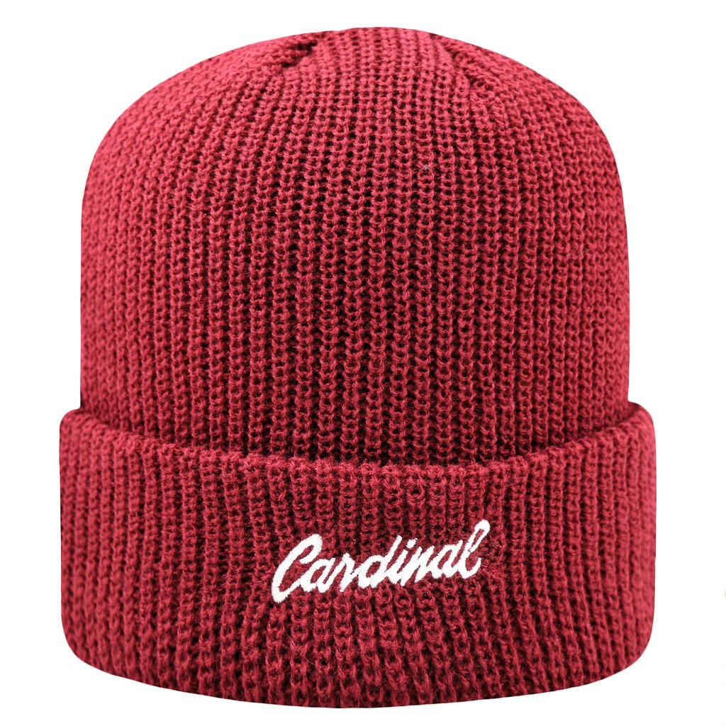 8e5c41a7 Stanford Cardinal Official NCAA Heavy Cuffed Knit Beanie Stocking Hat Cap  261755