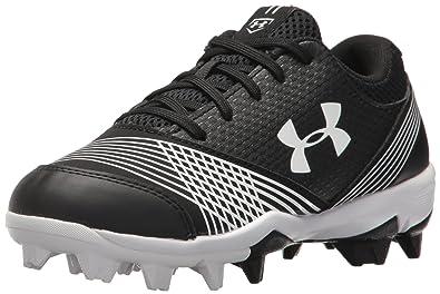 276de9571985 Amazon.com | Under Armour Kids' Girls' Glyde RM Jr. Softball Shoe ...