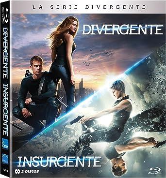 Pack Divergente + Insurgente Blu-Ray [Blu-ray]: Amazon.es ...