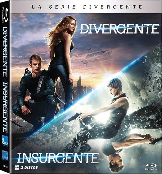 Pack Divergente + Insurgente Blu-Ray [Blu-ray]: Amazon.es: Shailene Woodley, Theo James, Robert Schwenke, Neil Burger, Shailene Woodley, Theo James: Cine y Series TV