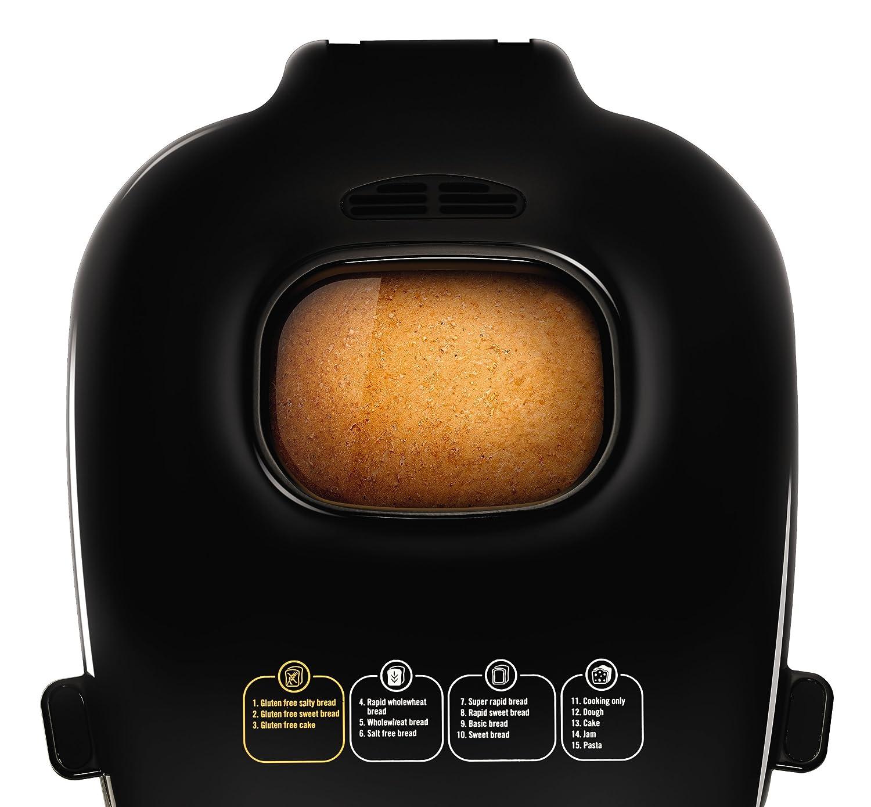 Moulinex OW311E10 Nutribread - Máquina para hacer pan, color negro ...