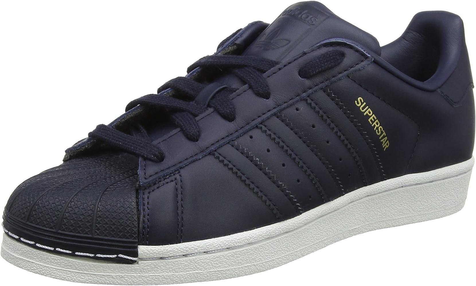 Adidas Superstar, Zapatillas de Deporte para Niños, Azul (Tinley ...