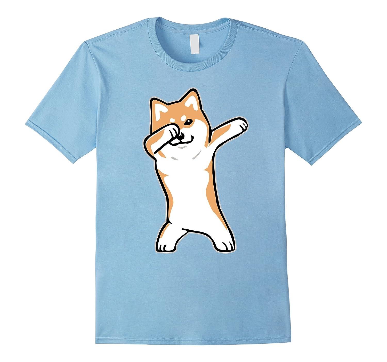 Dog Meme T-shirt - DABBING SHIBA INU DOGE shirt-FL