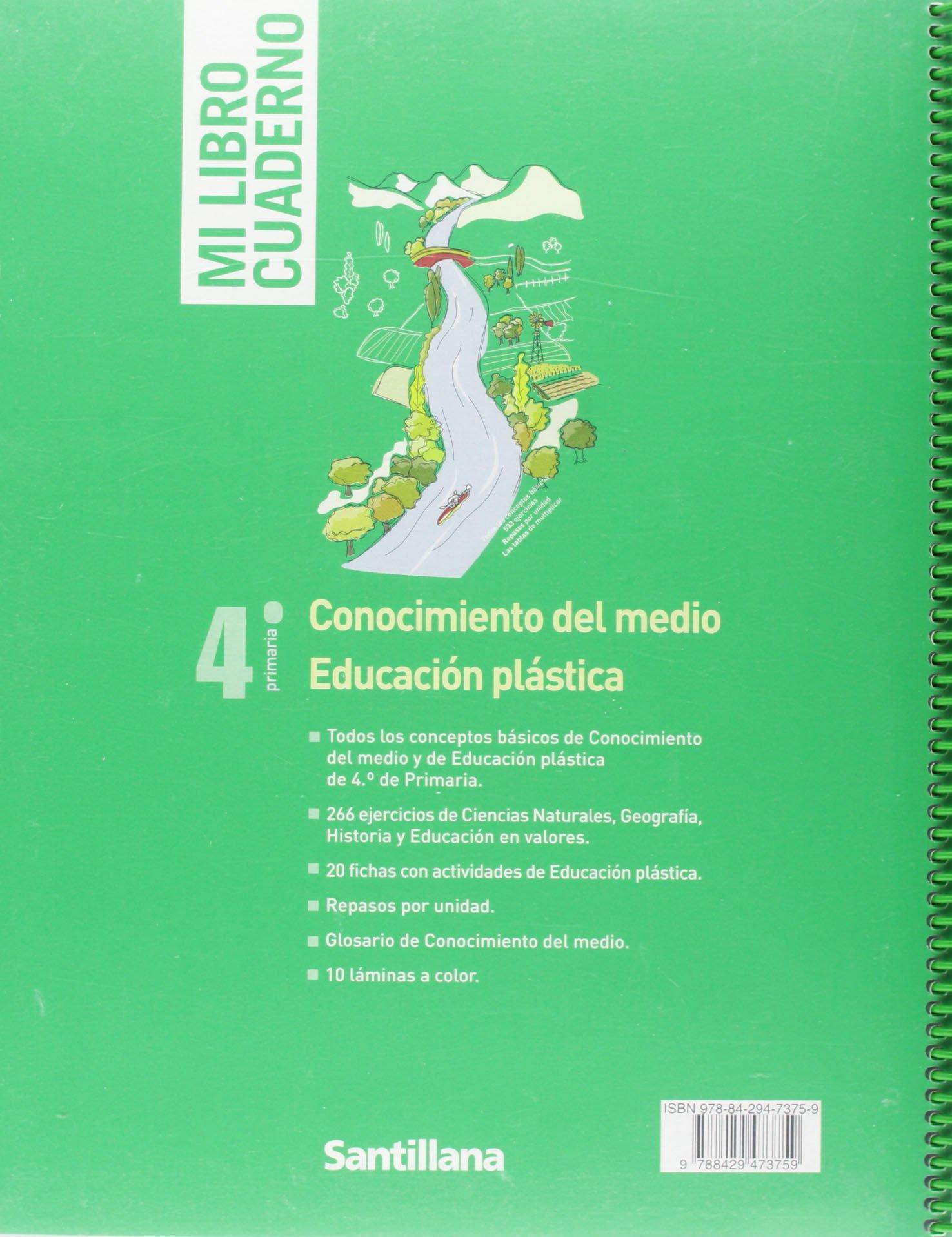 MI LIBRO CUADERNO CONOCIMIENTO DE MEDIO EDUCACIÓN PLÁSTICA 4 ...
