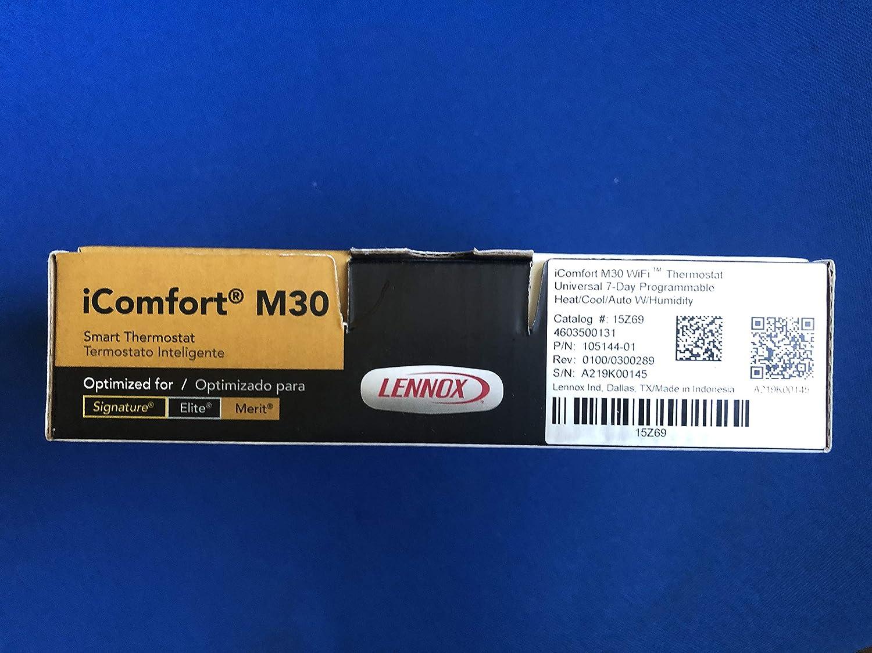 Lennox 15Z69 iComfort M30 termostato Inteligente con Pantalla táctil: Amazon.es: Hogar