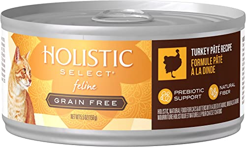 Eagle Pack Holistic Holistic Select Natural Wet Grain Free Canned Cat Food Turkey P t