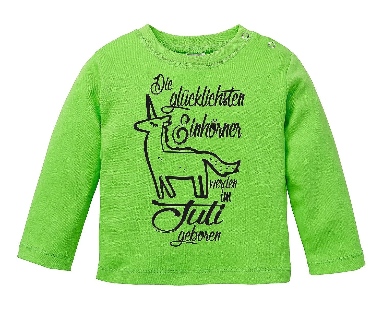 Baby Halstuch Angry Shirts Die Glücklichsten Einhörner werden im August geboren Perfektes Geburtstagsgeschenk