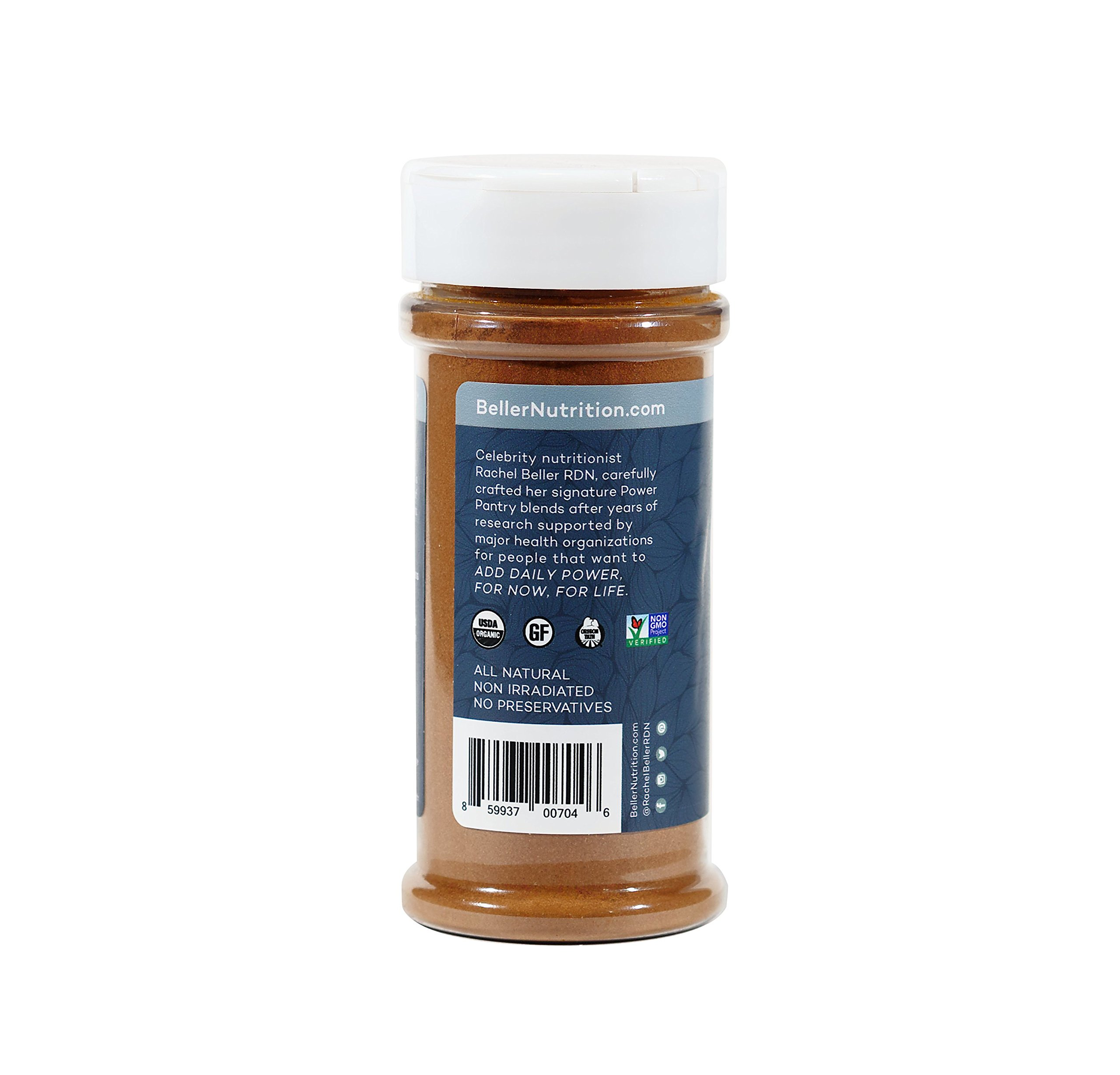 Rachel Beller's Power Pantry Ceylon Cinnamon - Organic Ceylon cinnamon spice, 3.1 ounce by Rachel Beller's Power Pantry (Image #3)