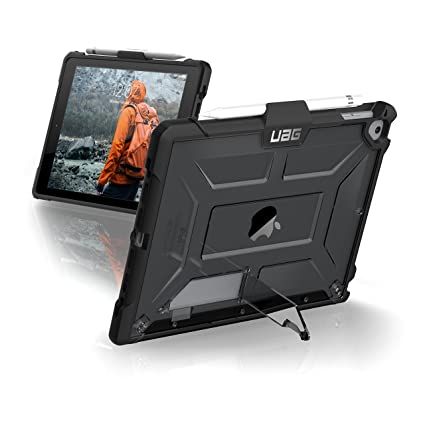 huge selection of f70d6 5a75e URBAN ARMOR GEAR [UAG] iPad 9.7 (2017 5th Gen & 2018 6th Gen)/iPad Pro  9.7-inch/iPad Air/iPad Air 2 Plasma Feather-Light Rugged [Ash] Military  Drop ...