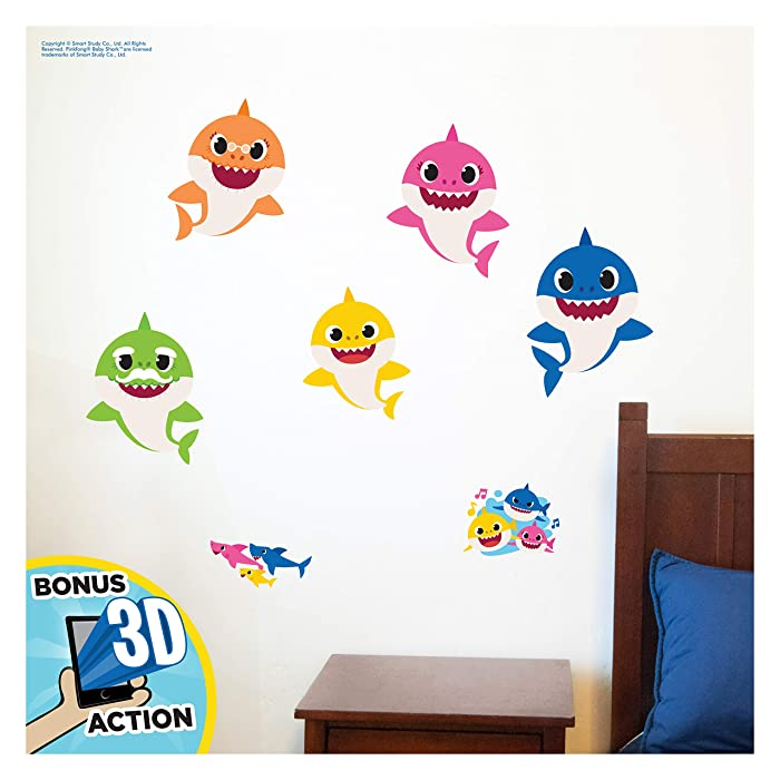 Top 9 3D Bathroom Wall Decals Shark
