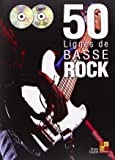 Tauzin Bruno 50 Lignes De Basse Rock Bass Guitar Book/Cd/Dvd.
