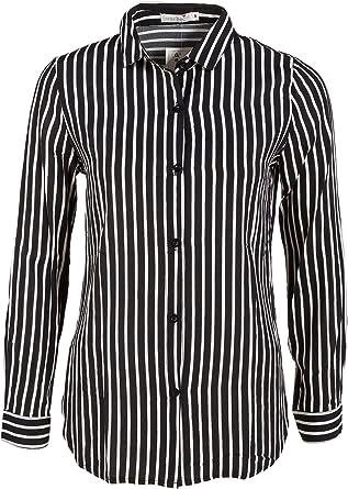 Italienische Mode - Camisas - Rayas - para mujer blanco y ...