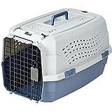 AmazonBasics Caisse de transport pour animal domestique 2portes dont 1sur le dessus 58cm