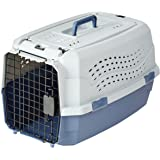 AmazonBasics 23-Inch (58.5 cm) Two-Door Top-Load Pet Kennel