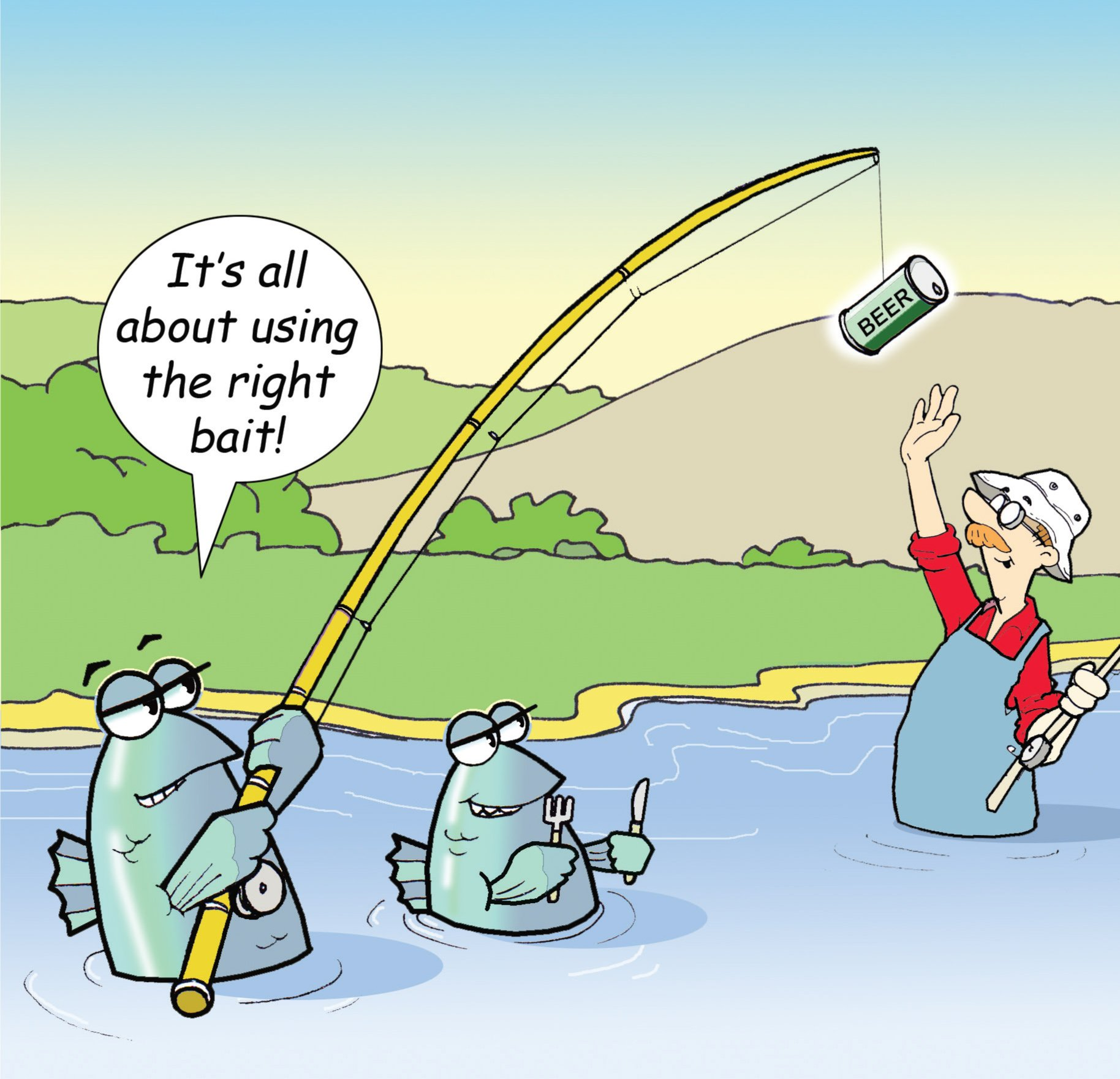 Fishing Birthday Card Amazon