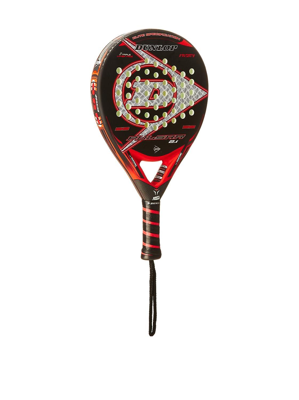Dunlop Pala Pádel Pulsar 2,1 Negro/Rojo Única: Amazon.es: Deportes y aire libre