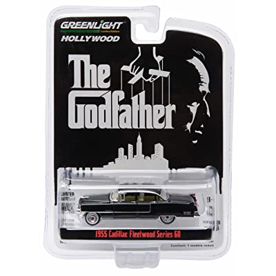 1955 CADILLAC FLEETWOOD SERIES 60 from the classic film THE GODFATHER GL Hollywood Series 14 Greenlight Collectibles 1:64 Scale 2016 Die-Cast Vehicle: Toys & Games
