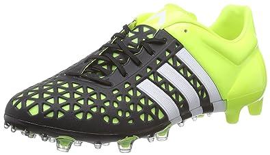 quite nice fbe35 66e8b adidas ACE15.1 FG AG, Chaussures de football homme, Jaune (solar