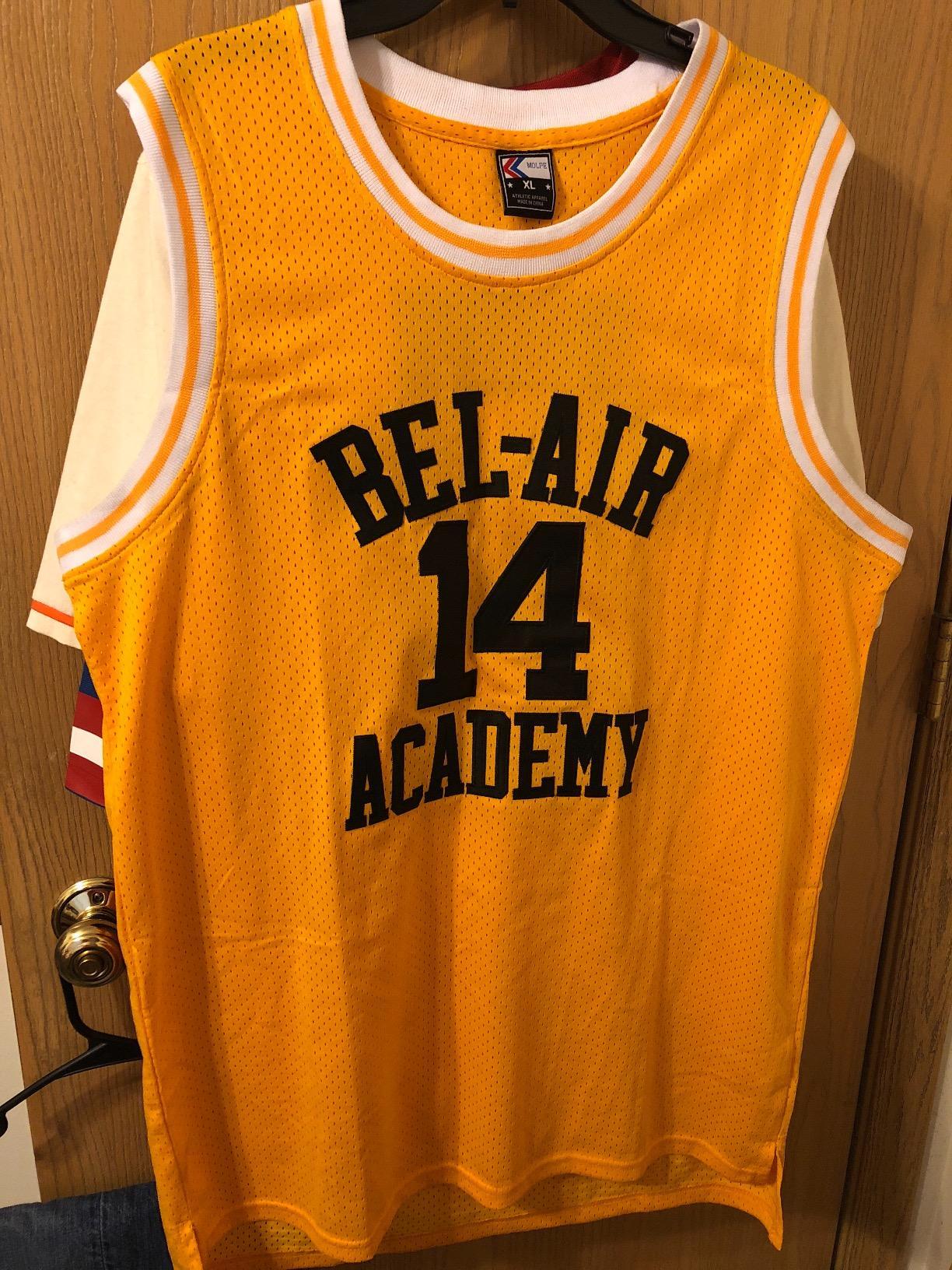 caf2efb0de17 Will Smith  14 - Fresh Prince Of Bel-Air Basketball Jerseys ...