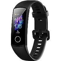 Honor Band 5 wasserdichter Bluetooth Fitness-/Aktivity-Tracker mit Herzfrequenzmesser, AMOLED-Farbdisplay, Touchscreen, Meteorite Black