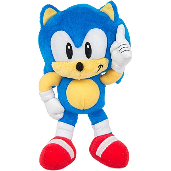 Amazon Com Sonic Tomy Collector Series Small Classic Plush 8 Toys Games