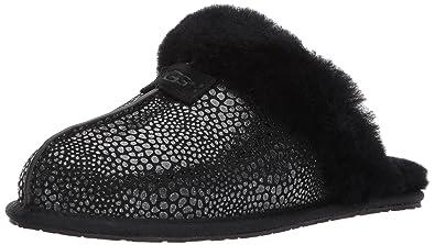 c7c798d5f Amazon.com | UGG Women's Scuffette Ii Glitzy Slip on Slipper | Slippers