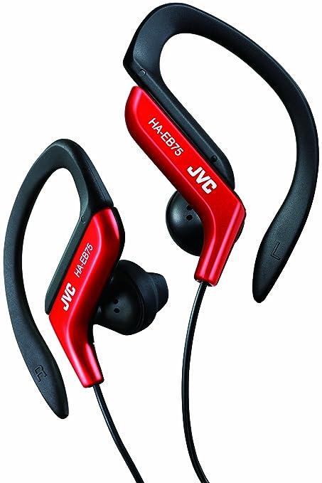 Jvc - Auriculares deportivos de botón ha-eb75-r-e