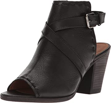 aa43b094302469 FRYE Women s Dani Pickstitch Shield Heeled Sandal