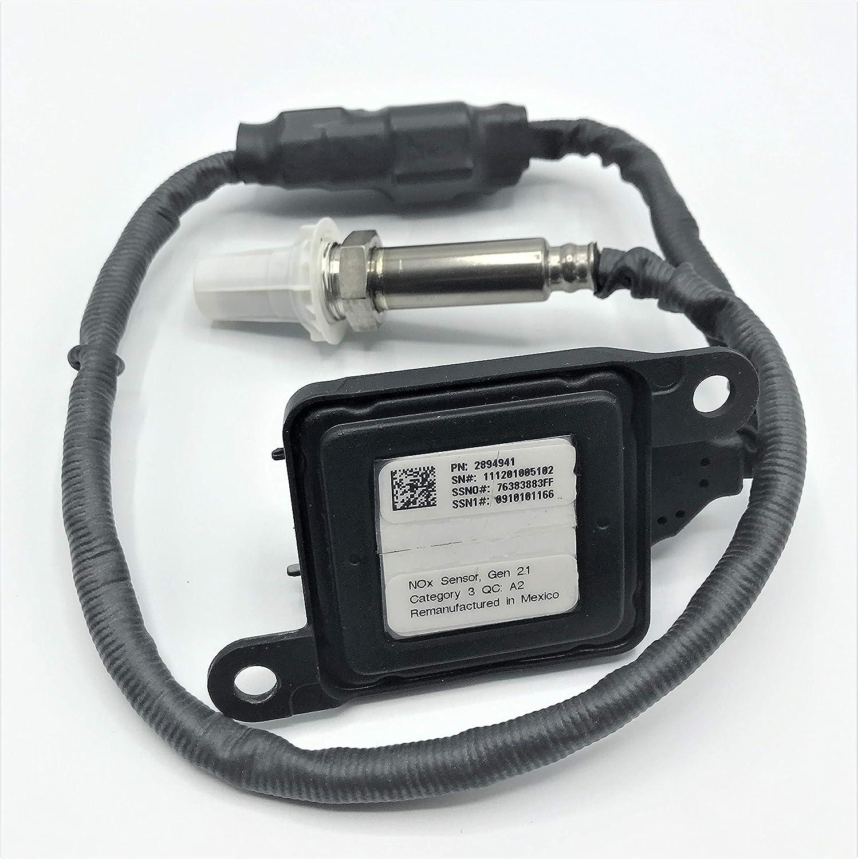 Nitrogen Oxide Sensor NOX Sensor 3687334RX 5WK9 6673A 2894941RX For 6.7L 2010-2012 Cummins Blue Bird