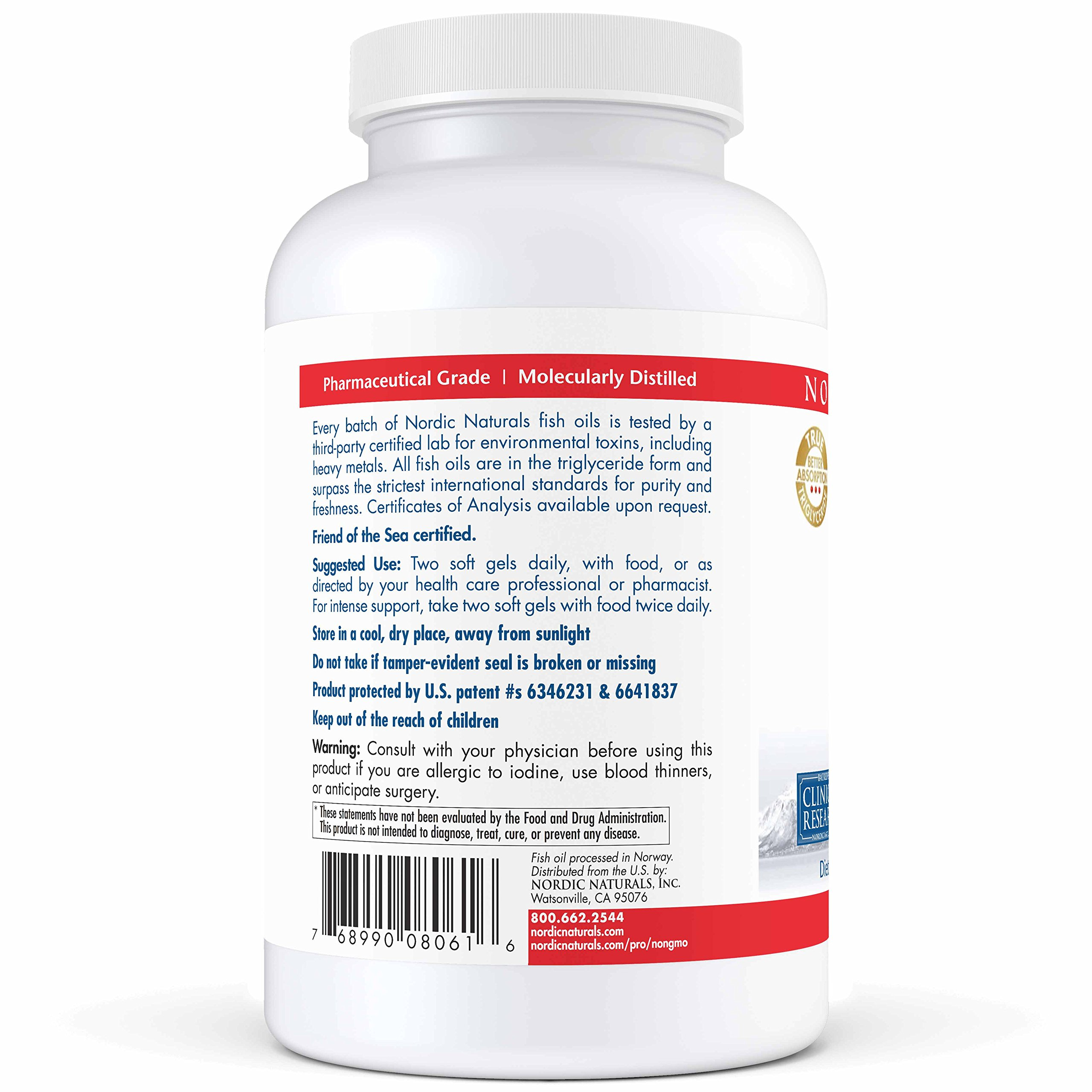 Nordic Naturals Pro - Proepa, Promotes Cardiovascular Health, 60 Count by Nordic Naturals (Image #4)