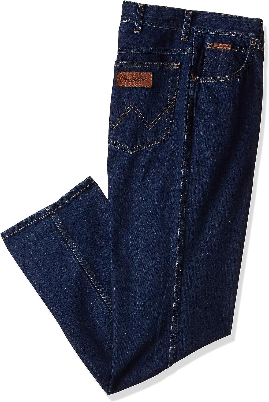 Wrangler Men/'s Texas Regular Fit Straight Leg Stretch Soft Black BNWT